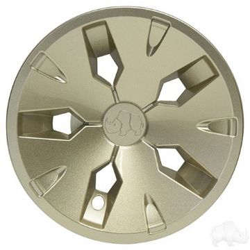 "Wheel Cover, 8"" Driver 2 Sand"
